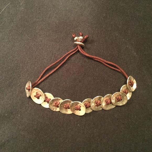 Silpada Button up bracelet